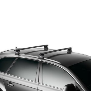 Thule WingBar Edge in Black Aluminum