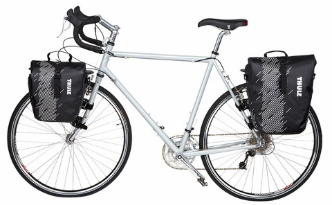 Thule Shield Bike Panniers Small and Large