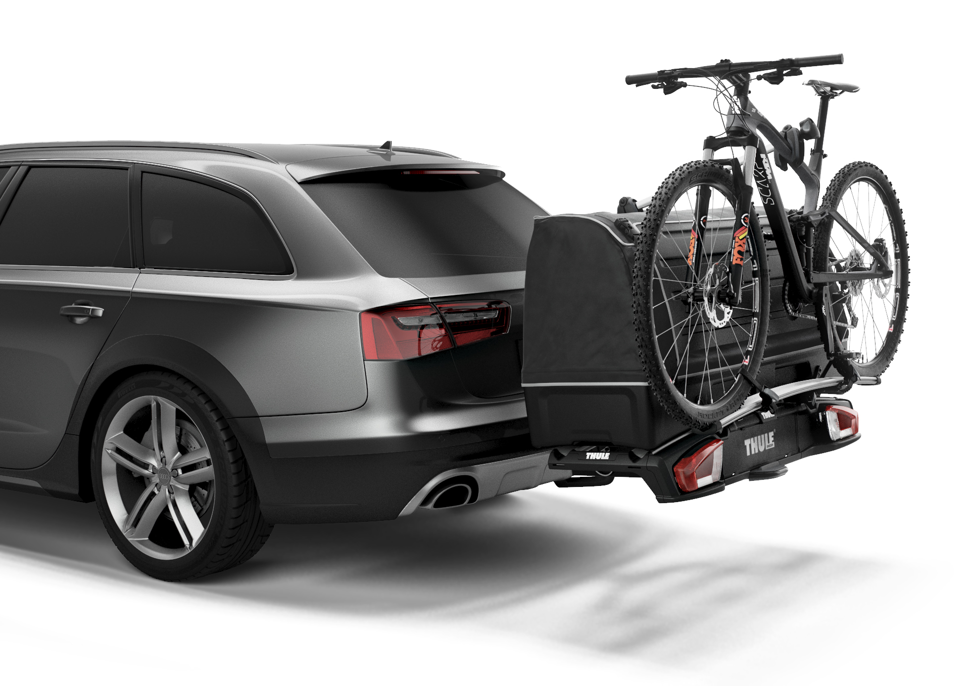 thule backspace xt cargo box to fit onto the velospace xt carbox. Black Bedroom Furniture Sets. Home Design Ideas
