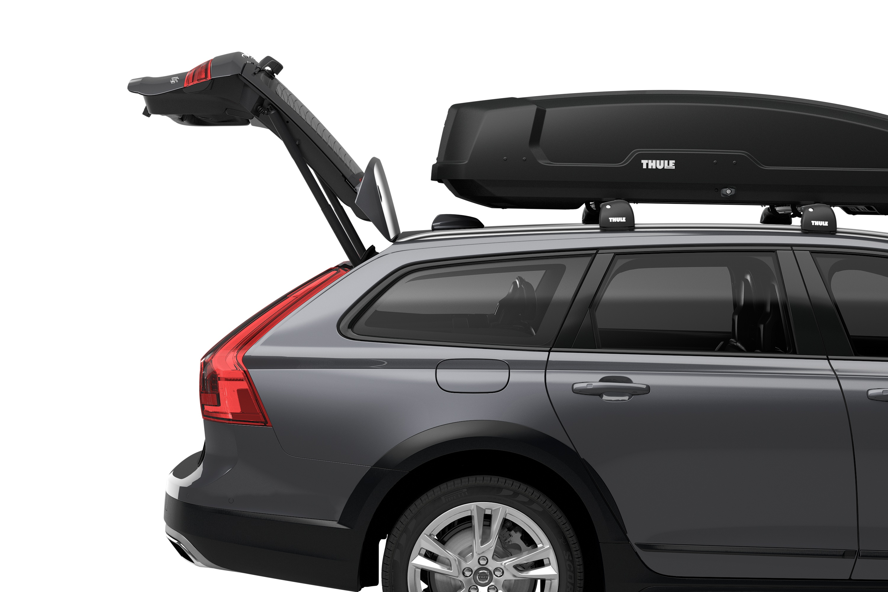 Thule Force Xt Medium Roof Box 400 L Carbox